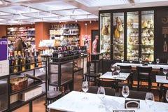 圣格雷戈里奥餐馆罗马 库存照片