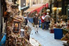 圣格雷戈里奥armeno在那不勒斯意大利 库存图片