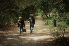 圣格雷戈廖达萨索拉:人` s公园 免版税库存图片