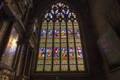 圣欧班教会在Guerande,法国 库存照片