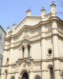 圣殿会堂在克拉科夫 免版税库存图片