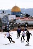 圣殿山和AlAqsa清真寺在耶路撒冷以色列 图库摄影