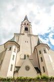 圣母升天节的教会,坏Tolz,巴伐利亚,德国 免版税库存照片