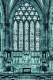 圣母堂维尔斯大教堂HDR 图库摄影