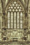 圣母堂维尔斯大教堂HDR BW 库存图片