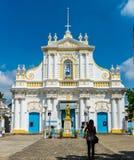 圣母无染原罪瞻礼教会 图库摄影
