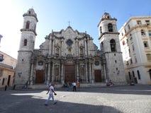 圣母无染原罪瞻礼的圣母玛丽亚的大教堂 库存图片