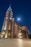 圣母无染原罪瞻礼,汉城的圣母玛丽亚的大教堂 免版税库存图片