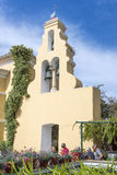 圣母玛丽亚修道院在Paleokastritsa 库存图片