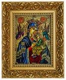 圣母玛丽亚和耶稣 免版税库存图片