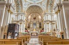 圣母玛丽亚在纳沙尔,马耳他的诞生 免版税库存图片