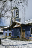 圣母玛丽亚的做法教会在Koprivshtitsa,索非亚地区历史镇  库存照片