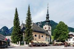 圣母玛丽亚的做法的教会 免版税库存照片