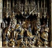 圣母玛丽亚的加冕 图库摄影