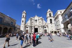 圣母玛丽亚的大教堂 库存图片