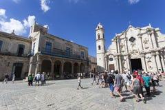 圣母玛丽亚的大教堂 免版税库存照片