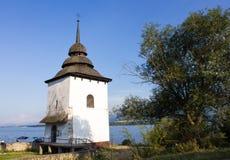 圣母玛丽亚的教会塔  免版税库存图片