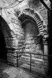 圣母玛丽亚的曲拱 耶路撒冷 免版税库存图片