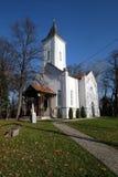 圣母玛丽亚的访问教会在锡萨克,克罗地亚 库存图片
