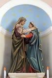 圣母玛丽亚的访问 图库摄影
