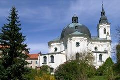 圣母玛丽亚的s寺庙 免版税库存照片