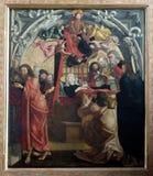 圣母玛丽亚死亡  库存图片