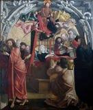 圣母玛丽亚死亡  免版税库存照片