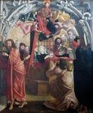 圣母玛丽亚死亡  图库摄影