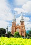 巴黎圣母院在胡志明市,越南 图库摄影