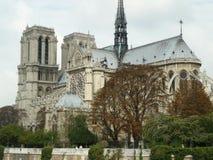 巴黎圣母院大教堂  库存图片