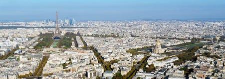 从巴黎圣母院的巴黎地平线 库存图片