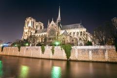 巴黎圣母院,法国。 图库摄影