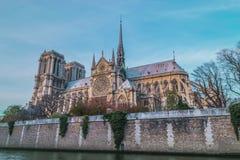 巴黎圣母院 图库摄影
