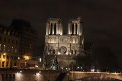 巴黎圣母院 库存照片
