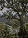圣毛罗偏僻寺院  免版税库存图片