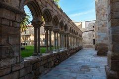圣法兰西斯修道院遗骸在欧伦塞 免版税库存图片