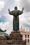 圣法兰西斯在罗马 库存照片
