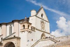 圣法兰西斯大教堂,阿西西,意大利 免版税库存照片