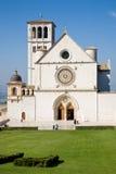 圣法兰西斯大教堂,阿西西 库存图片
