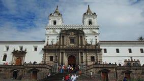 圣法兰西斯教会和修道院是16世纪天主教复合体 免版税库存照片