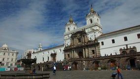 圣法兰西斯教会和修道院是16世纪天主教复合体 库存照片