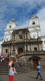 圣法兰西斯教会和修道院是16世纪天主教复合体 免版税库存图片