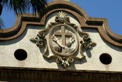 从圣法兰西斯教会的建筑细节 免版税库存图片