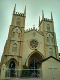 圣法兰西斯泽维尔19世纪教会  库存图片
