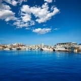 圣波拉口岸小游艇船坞在阿利坎特西班牙 免版税库存图片