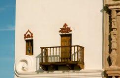 圣泽维尔使命图森,亚利桑那 免版税库存照片