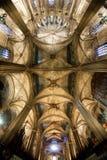 圣洁交叉和圣徒尤拉莉亚的大教堂 免版税库存图片