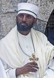 圣洁仪式埃赛俄比亚的火 免版税库存图片