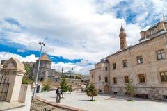 圣洁传道者教会和Evliya清真寺 免版税库存照片