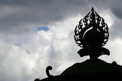 圣洁佛教的火 库存照片